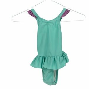 💜 5/$25 - teal purple 18 month old swimsuit